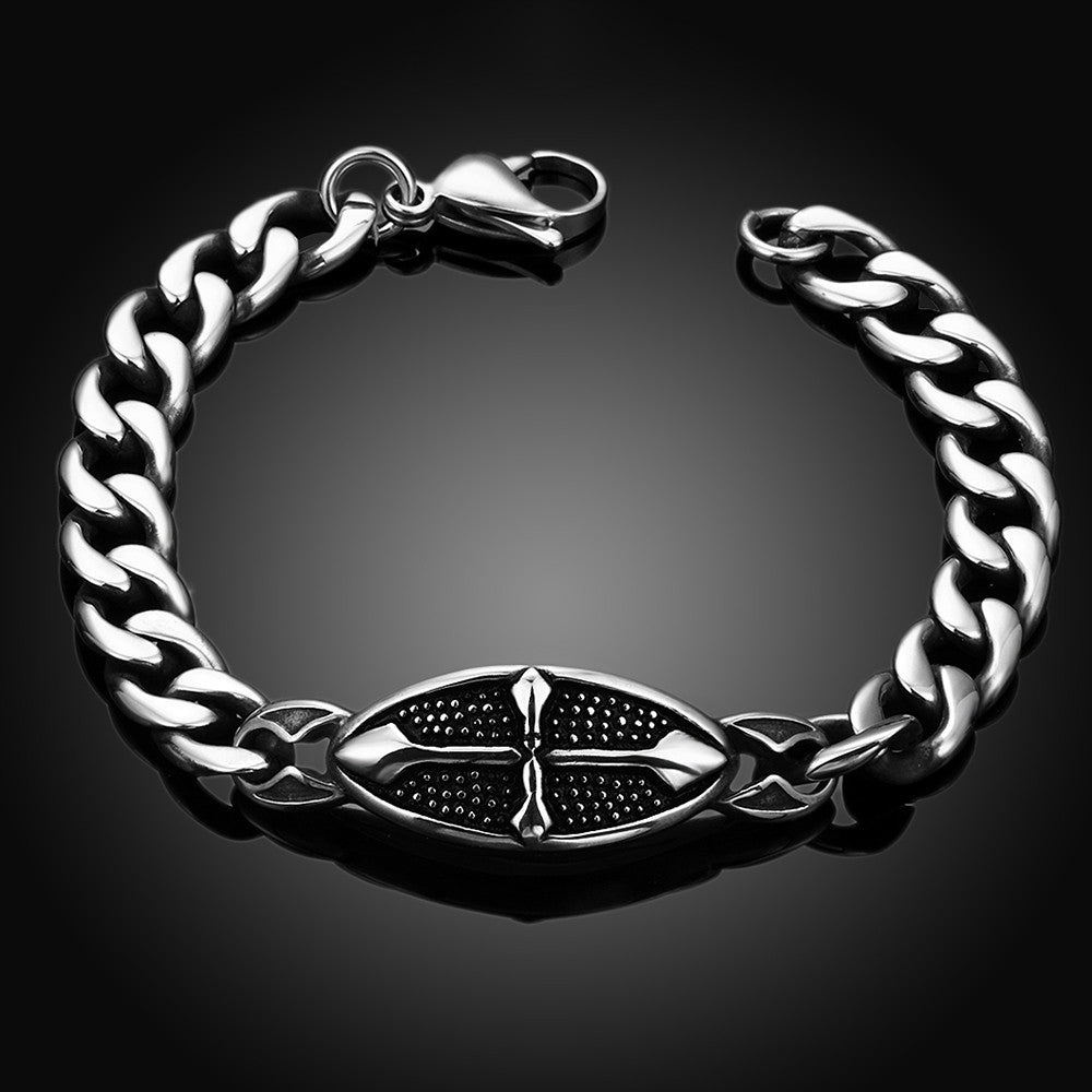 Simple Elegance Stainless Steel Bracelet - CharmToSpare