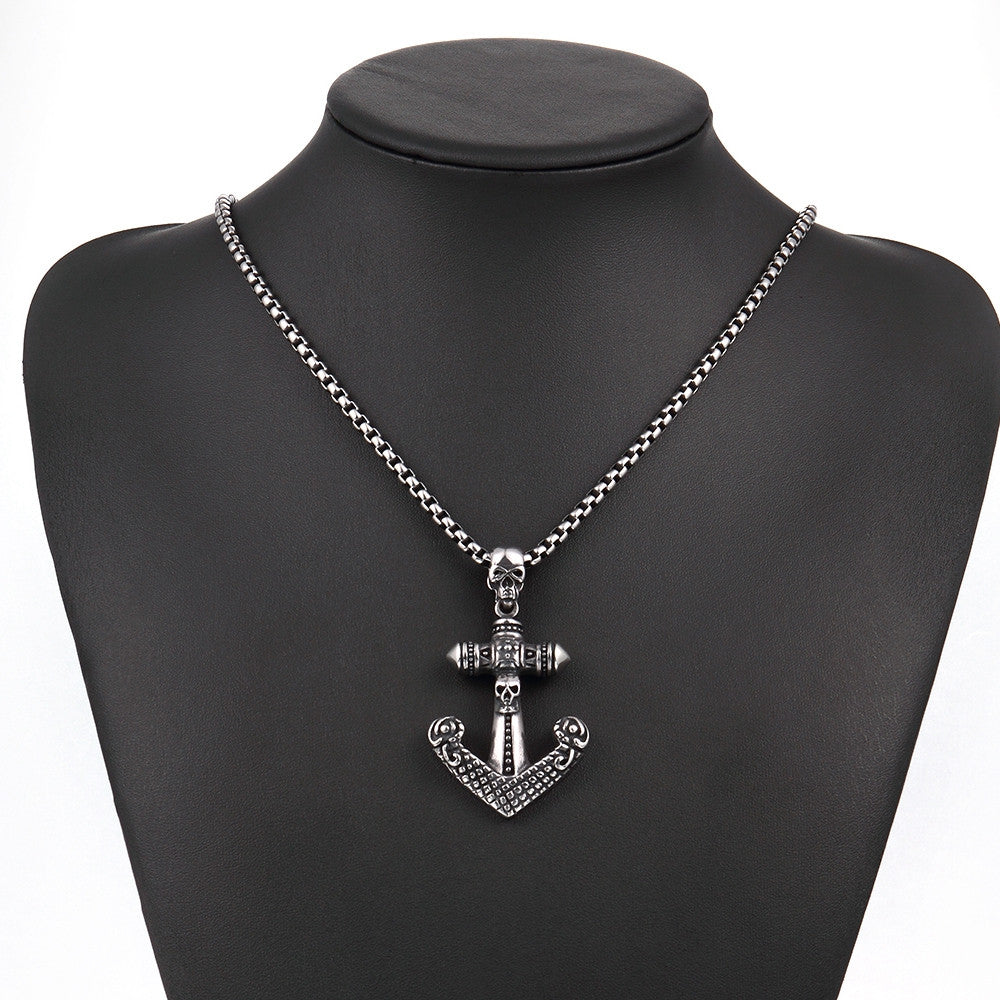 Anchor Stainless Steel Necklace - CharmToSpare