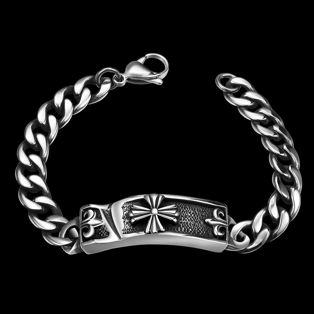 Celtic Inspired Stainless Steel Bracelet - CharmToSpare