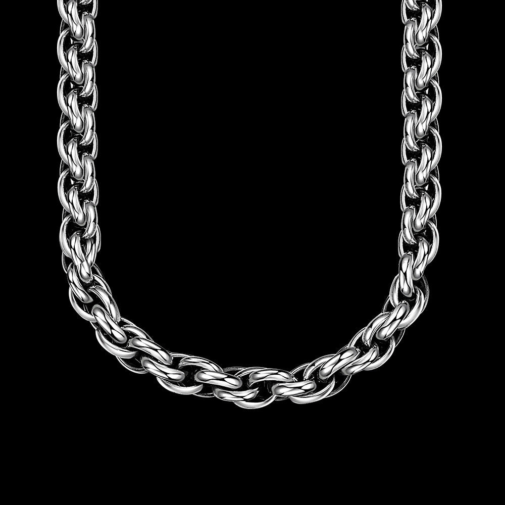 Classic New York Chain Stainless Steel Necklace - CharmToSpare