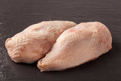CHICKEN - BREAST - WITH SKIN