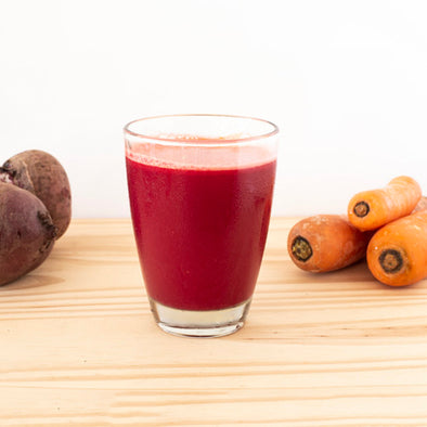 APPLE, BEETROOT & CARROT JUICE