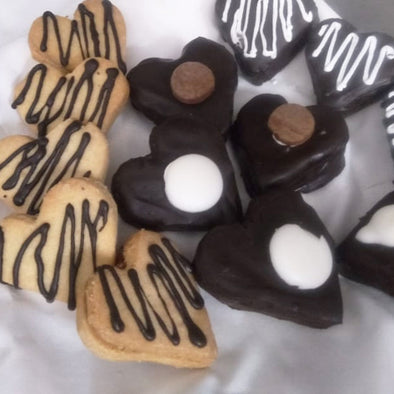 HEART SHAPE COOKIES - MIXED