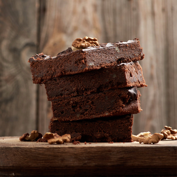 BROWNIE - CHOCOLATE & WALNUT