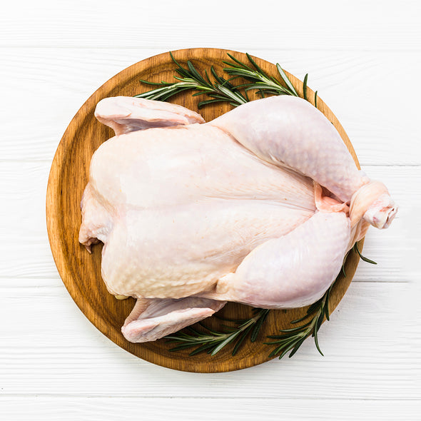 CHICKEN WHOLE - FREE RANGE WITH SKIN