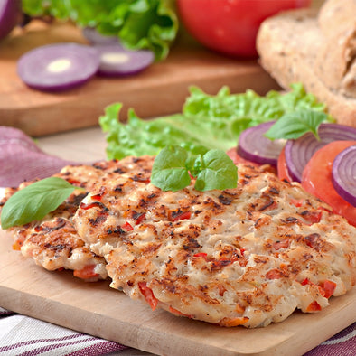 BURGER PATTIES - CHICKEN