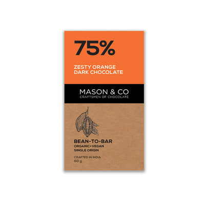 75% ZESTY ORANGE CHOCOLATE