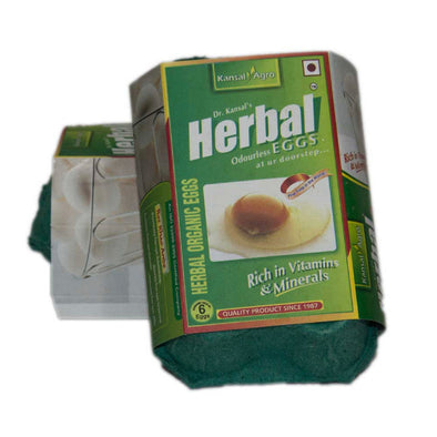 CHICKEN EGGS - HERBAL WHITE