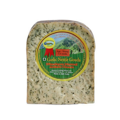 YOUNG - GOUDA GARLIC NETTLE CHEESE