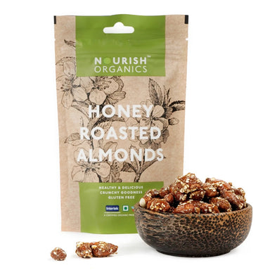HONEY ROASTED ALMONDS