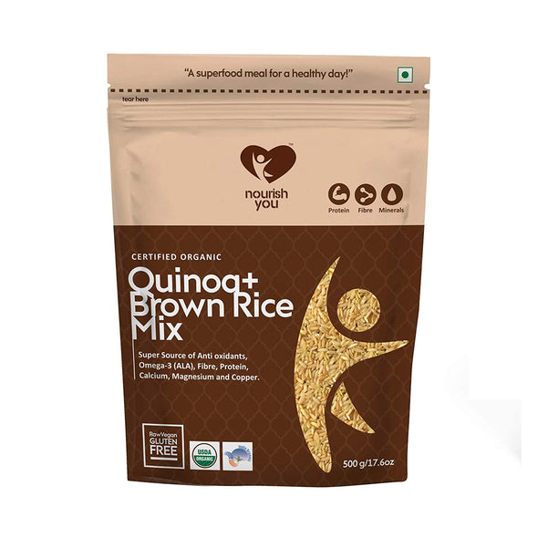 QUINOA & BROWN RICE MIX