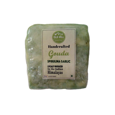 GOUDA - SPIRULINA & GARLIC (OLD HILL)