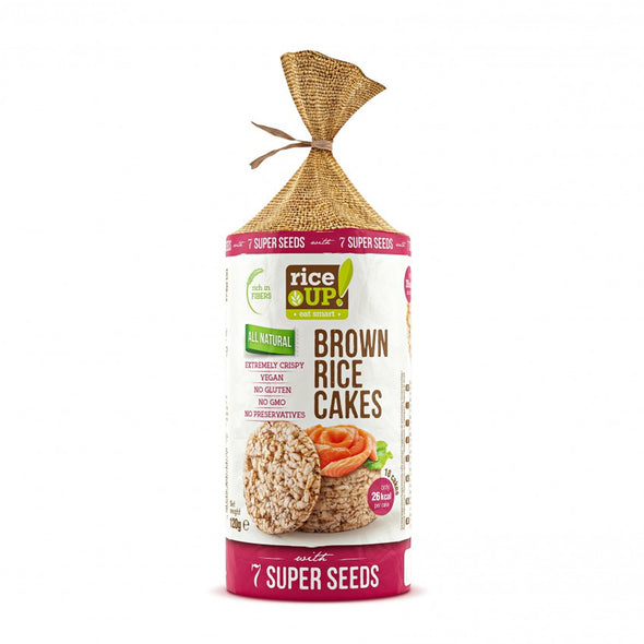 RICE CAKES - 7 SUPER SEEDS