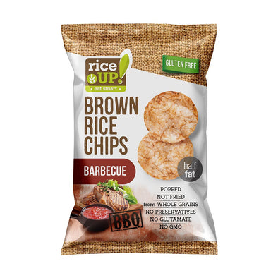 BROWN RICE CHIPS - BARBECUE