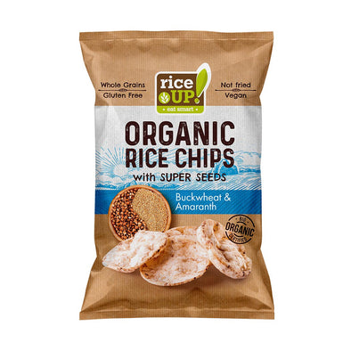 BROWN RICE CHIPS - BUCKWHEAT & AMARANTH