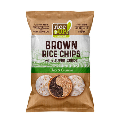 BROWN RICE CHIPS - CHIA & QUINOA