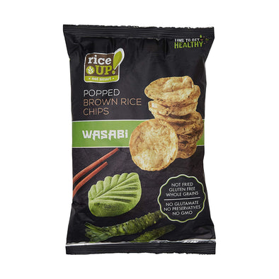 BROWN RICE CHIPS - WASABI