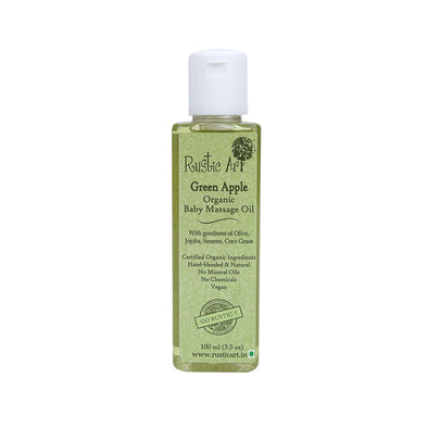 BABY MASSAGE OIL - GREEN APPLE