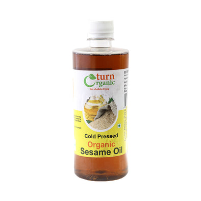 SESAME OIL - COLD PRESSED