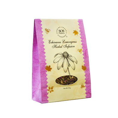 TEA- ECHINACEA LEMONGRASS HERBAL INFUSION