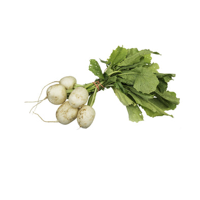 BABY TURNIP WHITE WITH TOPS