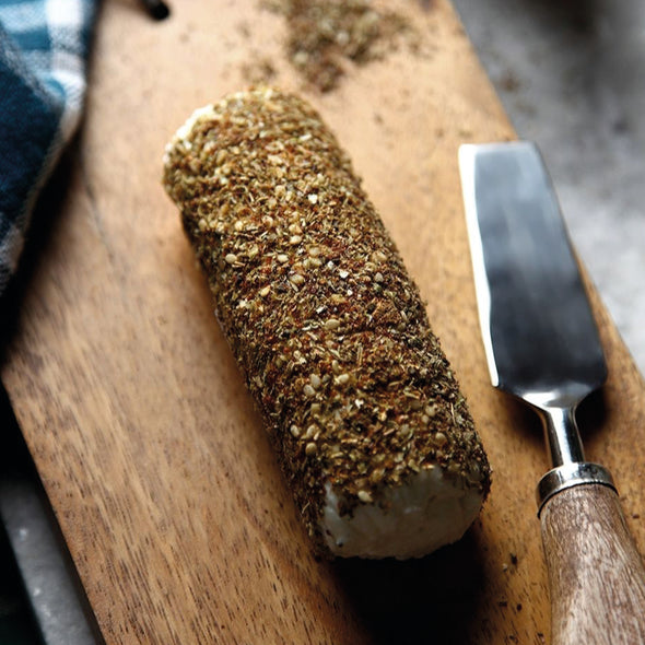 FRESH CHEESE WITH ZA'ATAR