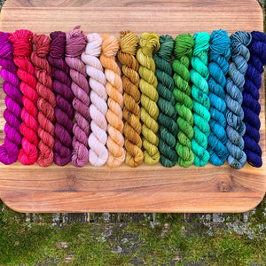 Perfect Palette 15 skein Mini Set