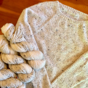 No Frills Sweater Kit for sizes XS, S, M