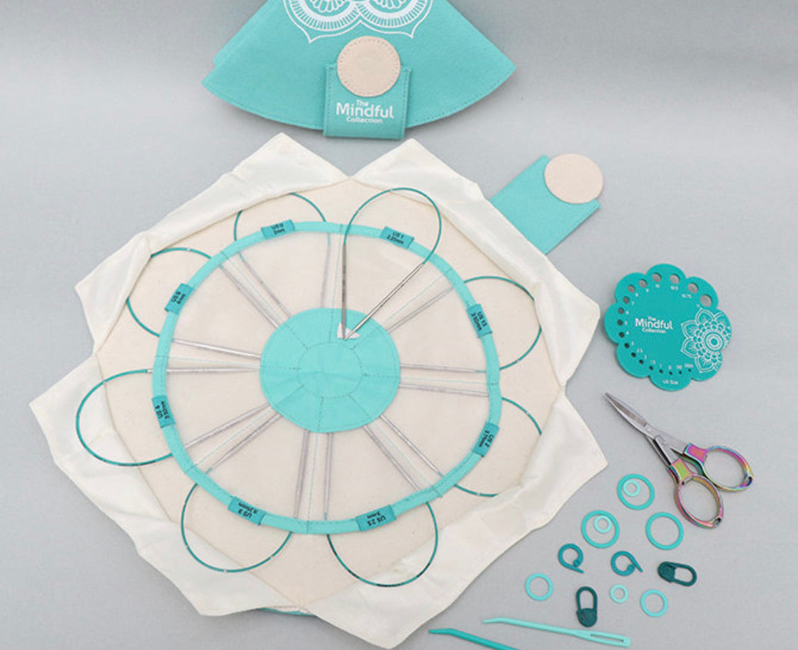 The Mindful Collection Lace Fixed Circular Needle Set