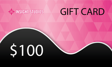 Load image into Gallery viewer, Insight Studios Gift Card - Chicago Location