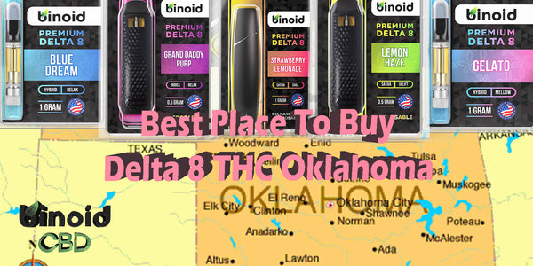 Delta 8 THC Oklahoma Buy store online best place