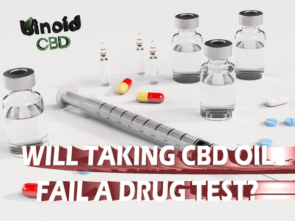will cbd oils show up fail a drug test screening