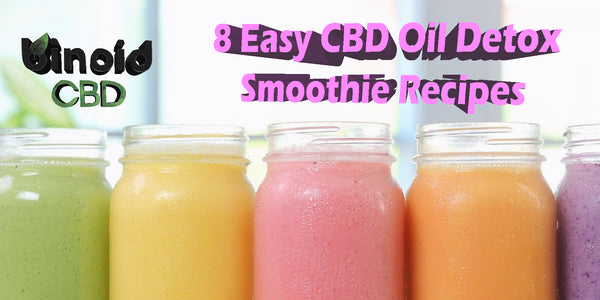 Easy Healthy Tasty Delicious CBD Oil Detox Smoothie Recipes Shake Best Water Soluble