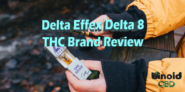 Delta Effex Delta 8 THC Brand Product Review Delta 10