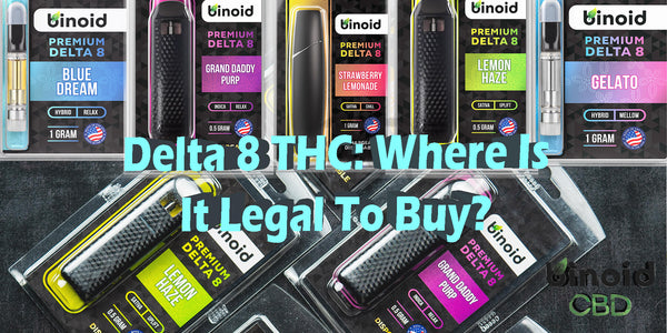 Delta 8 THC: Legality state by state list