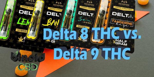 Delta 8 THC vs Delta 9 THC Difference High