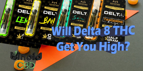 Does Delta 8 THC Get You High? Yes