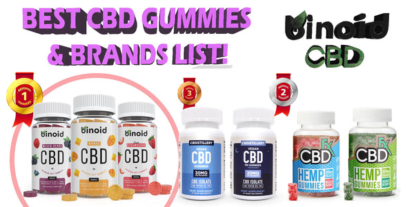 Top 6 Best CBD Gummies and Brands