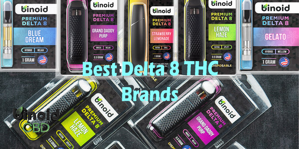 Best Delta 8 THC brands review vape cartridges online
