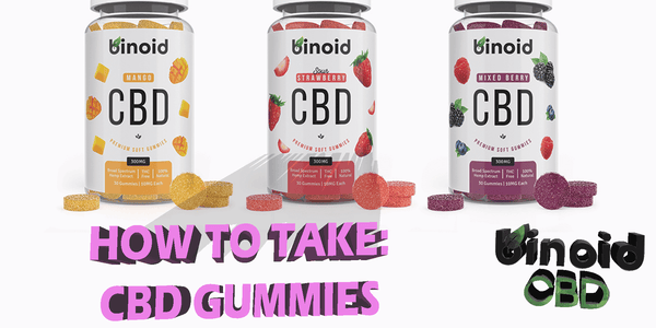 How To Take CBD Gummies