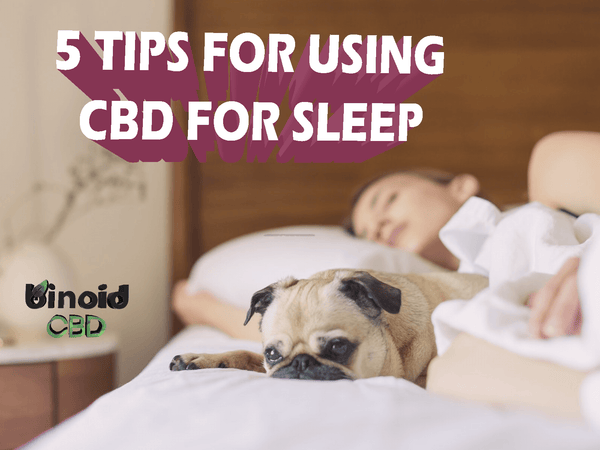 How to use CBD for sleep 5 tips