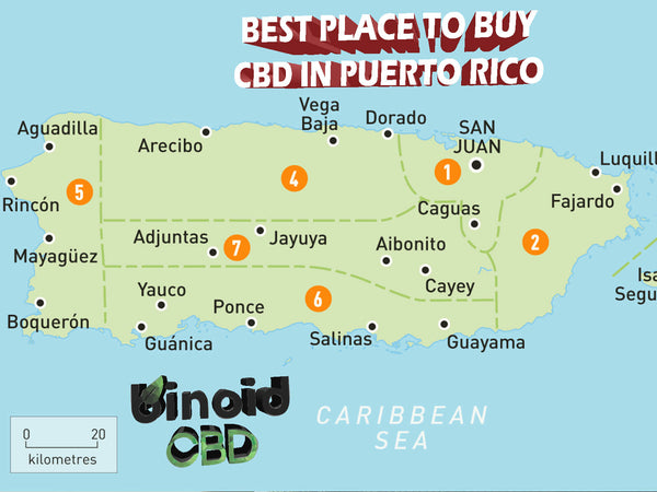 The best place to buy CBD oil in puerto rico san juan vega baja dorado