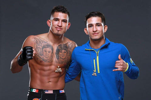 Anthony & sergio pettis use cbd for pain cbdistillery
