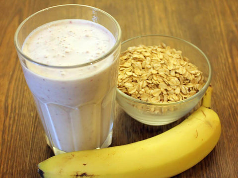 Banana Protein Smoothie with water soluble CBD oil Recipe Shake how to