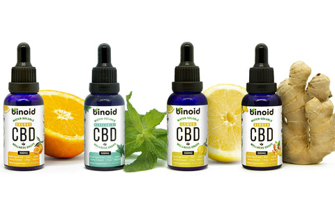 Best Tasting CBD Oil Tinctures Water Soluble Nano