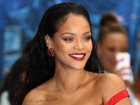 Rihanna uses marijuana and cbd very openly in the media