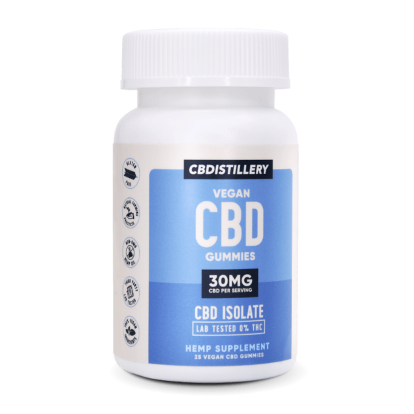 CBDistillery Hemp CBD Vegan Gummies discount coupon All natural gluten free for sale