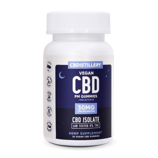 CBDistillery Night-time CBD Gummies gummy bears vegan coupon discount code for sale online isolate
