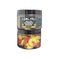8Delta8 Delta 8 THC Gummies 20mg 300mg Peach Gummy Rings buy online sale