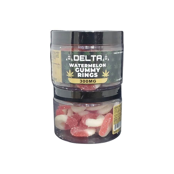 8Delta8 Delta 8 THC Gummies 20mg 300mg Watermelon Gummy Rings buy online sale